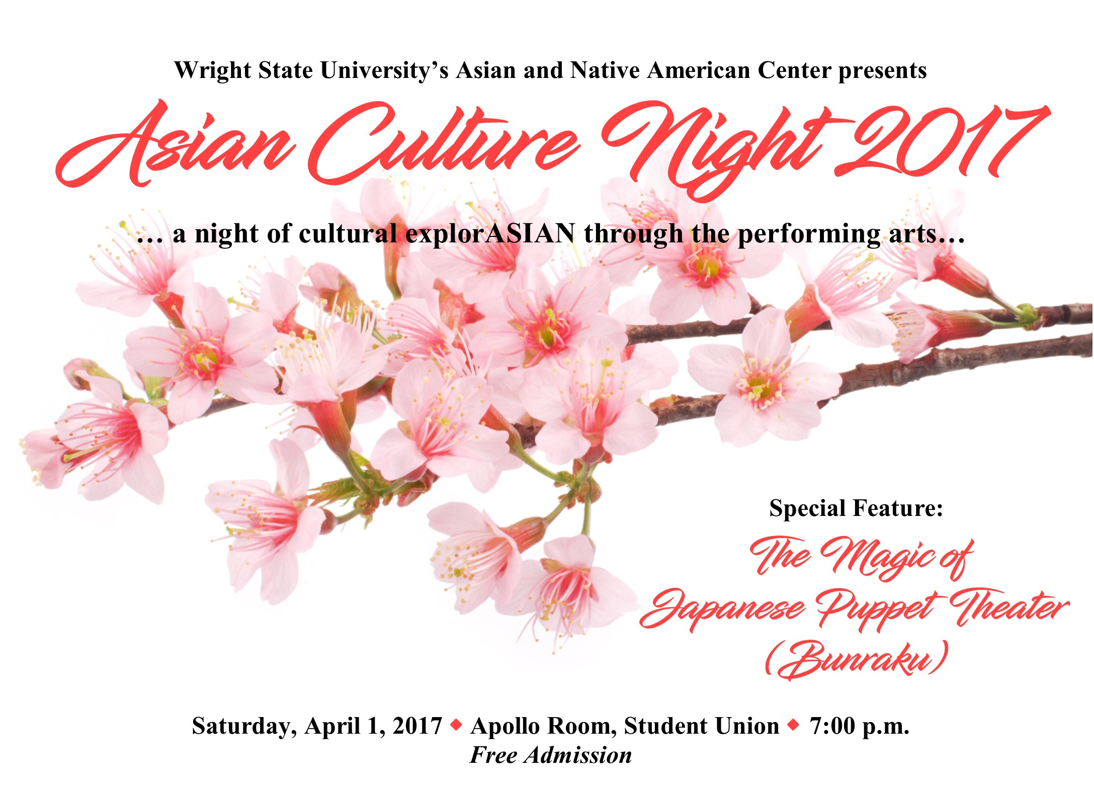wright state university asian culture night