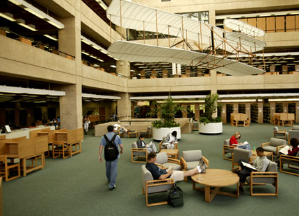 A Learning Space, Not Strictly a Library
