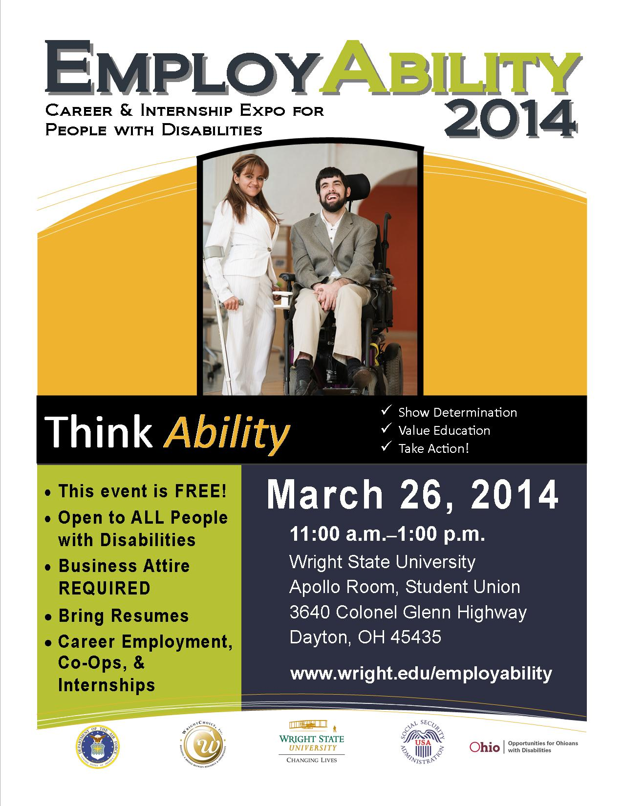EmployAbility 2014 Flyer