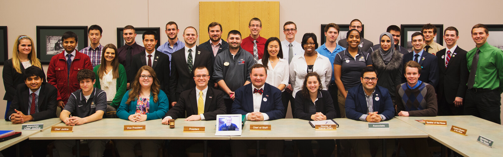 Full Group shot of the Wright State Student Government