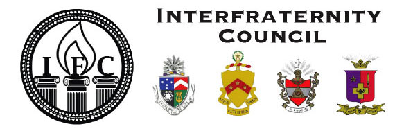 Interfraternity council logo