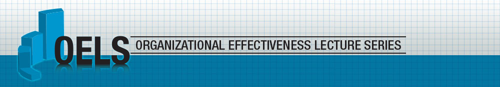 organizational effectiveness lecture series graphic