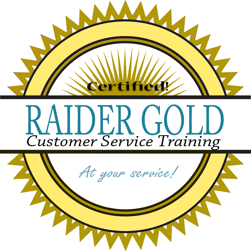 Raider Gold logo