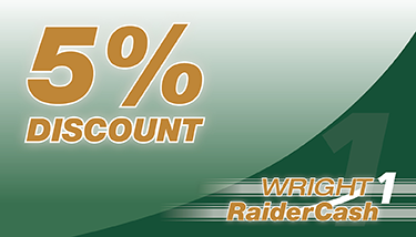 Raider Cash 5 percent