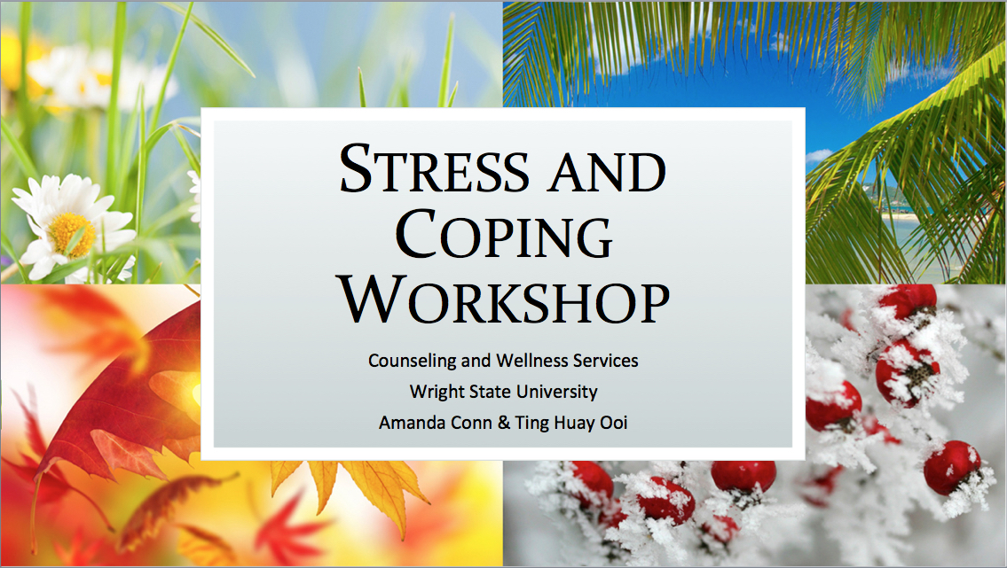 Stress Management Workshop Image