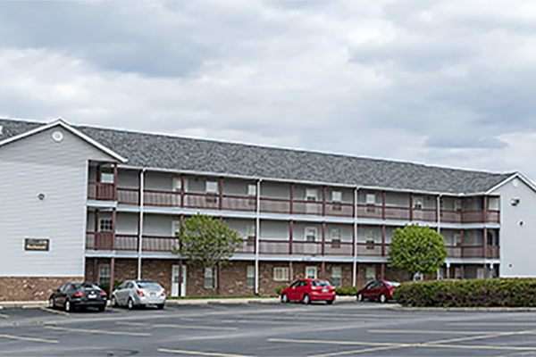 The university park apartment building