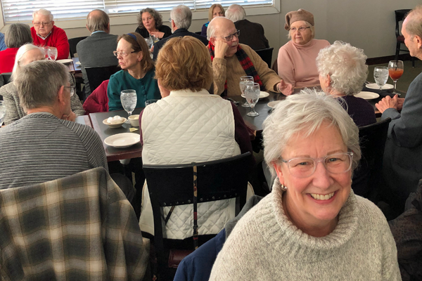 Retirees at the Wellington Grille