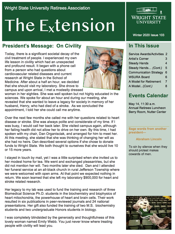 Winter 2020 Extension, Issue 103