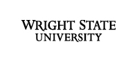 Wright State 2-line wordmark black