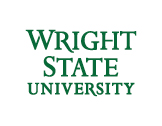 Wright State 3-line wordmark green