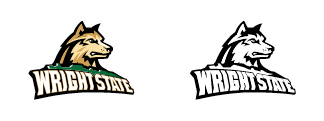 Wright State Athletics primary logo