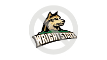 Wright State Athletics Violation - don't rotate the logo