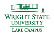 Wright State Lake Campus primary logo - green