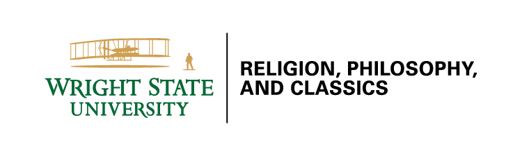 Wright State primary logo - college and department example