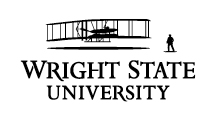 Wright State primary logo - black