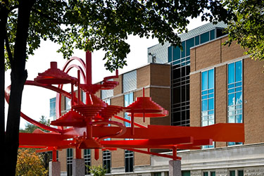 photo of turning points and university hall