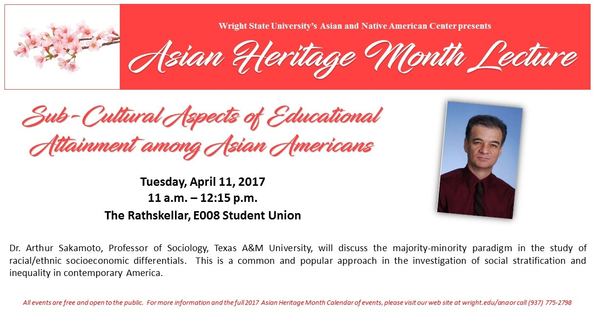 wright state asian heritage month sakamoto lecture