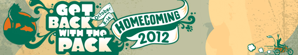 homecoming 2012 graphic banner