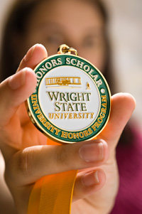 photo of honors medallion