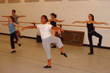 photo of mapp students in a dance class