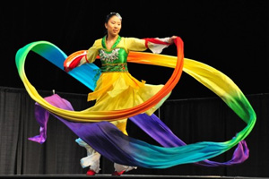 photo from asian culture night