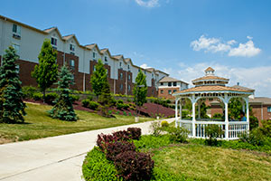 photo of honors housing