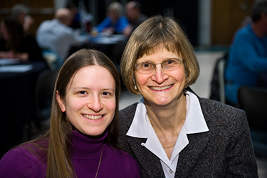 photo of an employee and her daughter