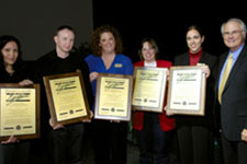 photo of president's excellence award recipients
