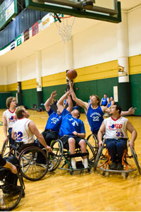 Photo of Wheelchair Basketball League
