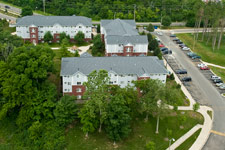 photo of campus apartments