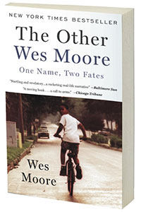 photo of the other wes moore book cover