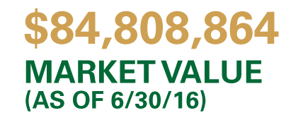 Market value (as of 10/08/15): $84,808,864