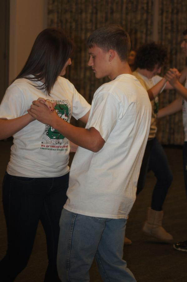 Dancing at Spanish Immersion, 2012