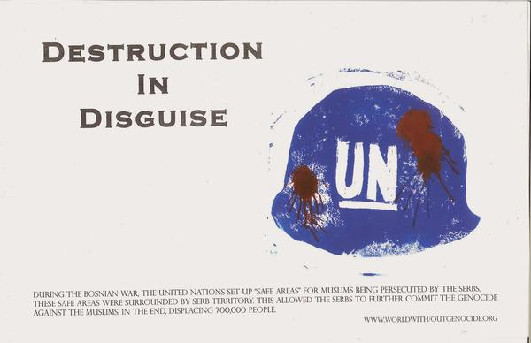 """Destruction in Disguise"" by Kailani Sparrow, one of many posters that will be available during the auction."