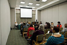 photo of a Race, Class, Gender, Sexuality Symposium session