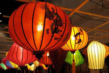 photo of chinese lanterns