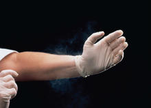 Powdered glove