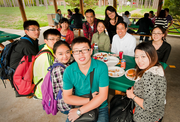 Exchange students from China