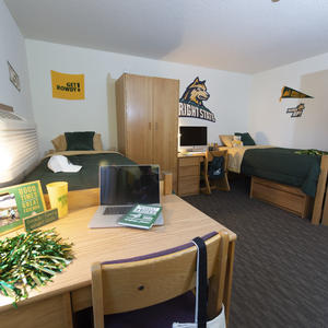 photo of a honors community room