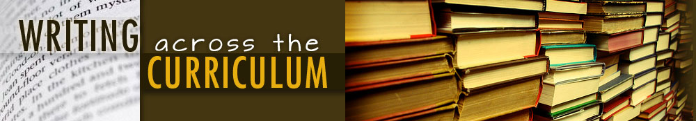 writing across the curriculum banner