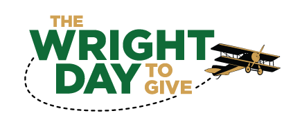 Wright Day to Give logo