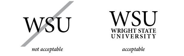 Wright State Violation Apparel - WSU must be accompanied by Wright State University