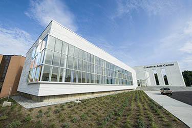 photo of the creative arts center