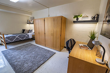 Residence hall room