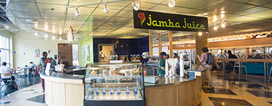 photo of jamba juice in the student union