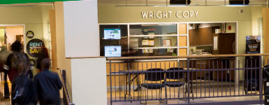 photo of wright copy in the student union