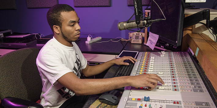 photo of a radio dj