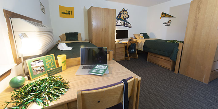photo of a room in the honors community