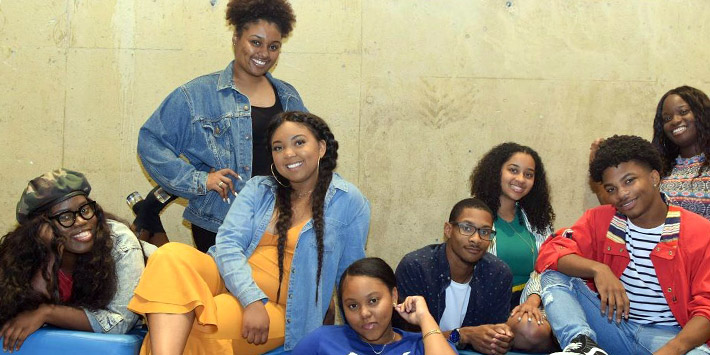 photo of members of the black student union