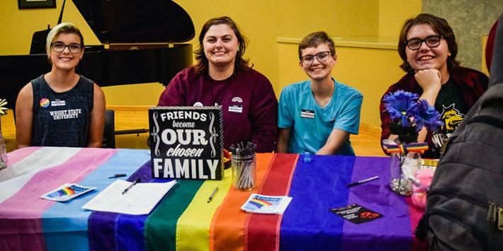 photo of members of rainbow alliance